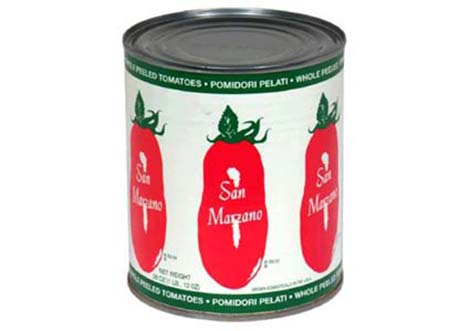 Authentico Italian sounding fake product tomato pomodori san-marzano
