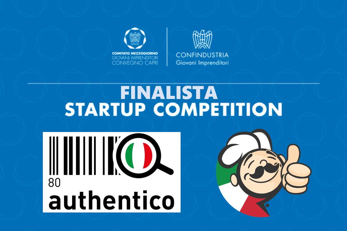 La Startup Authentico in finale alla Capri 2017 Competition