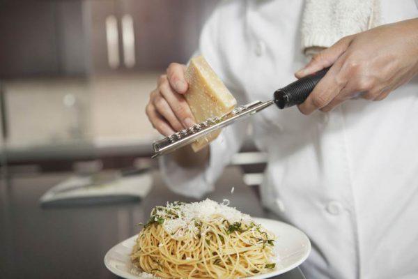 formaggio grattugiato ristorante