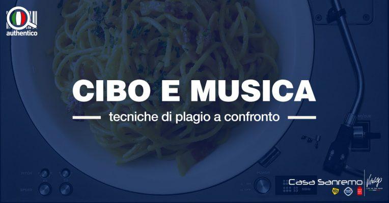 Cibo e musica, tecniche di plagio a confronto: Authentico sarà ospite a Casa Sanremo