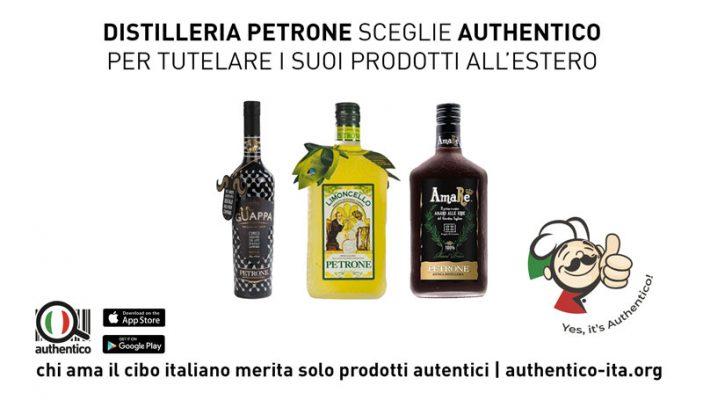 Comunicato Stampa: Antica Distilleria Petrone sceglie Authentico per tutelare i suoi prodotti all'estero