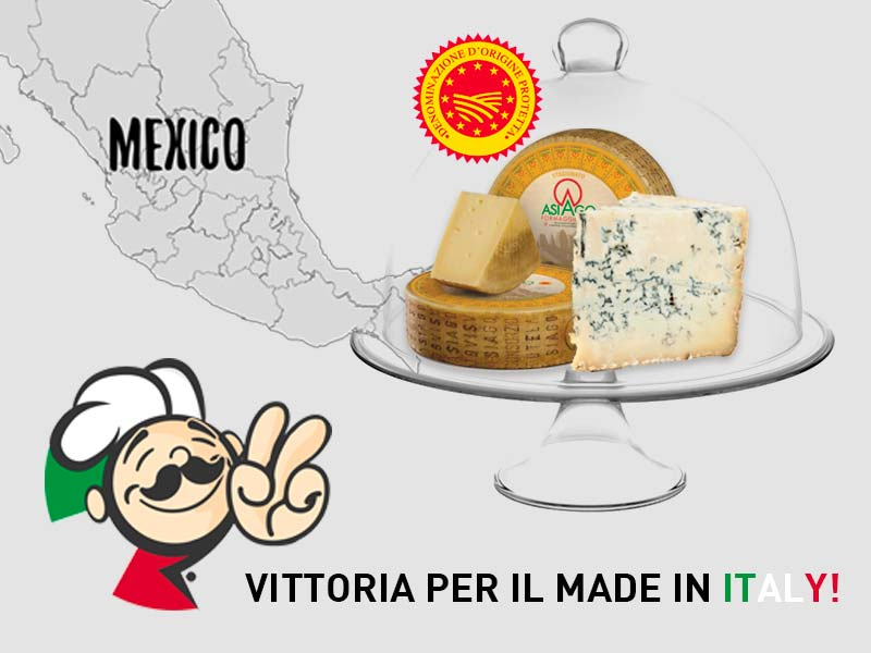 Asiago e Gorgonzola DOP, in Messico duro colpo contro l' Italian Sounding