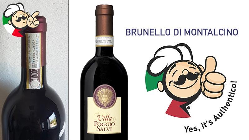 Falso Brunello di Montalcino: scoperta la frode grazie alle segnalazioni dei consumatori