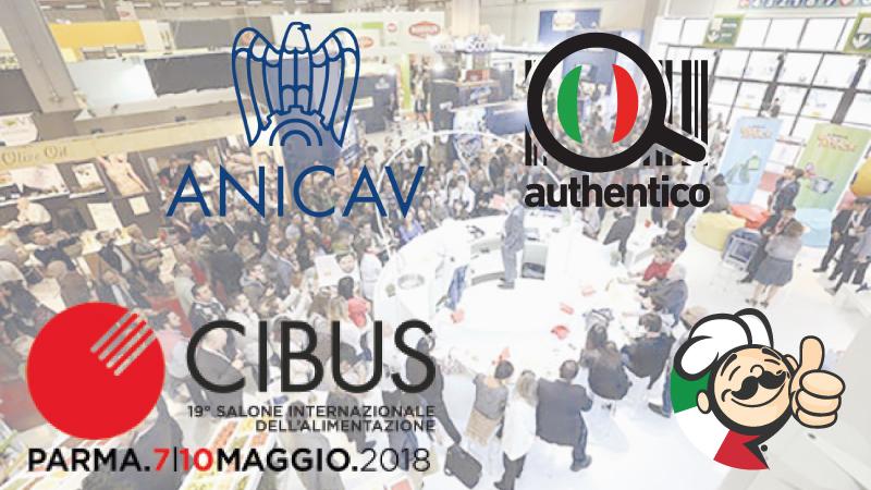 Authentico al Cibus con Anicav contro l'Italian Sounding