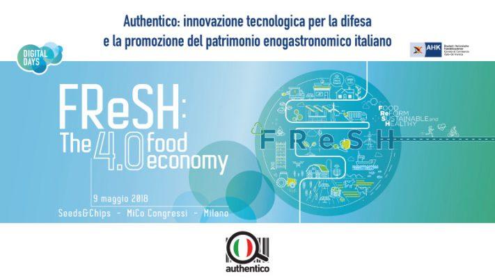 FReSH: The 4.0 Food Economy, l'evento sulla food innovation al Seeds&Chips 2018FReSH: The 4.0 Food Economy, l'evento sulla food innovation al Seeds&Chips 2018