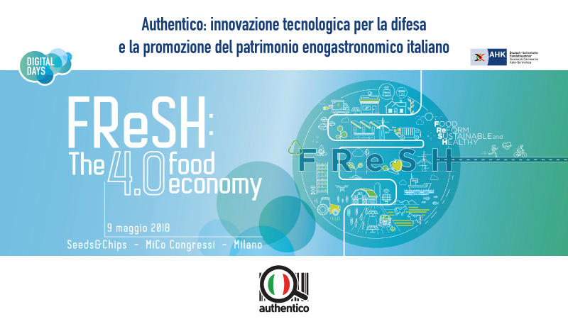 FReSH: The 4.0 Food Economy, l'evento sulla food innovation al Seeds&Chips 2018FReSH: The 4.0 Food Economy, l'evento sulla food innovation al Seeds&Chips 2018