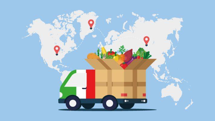 Cibo italiano all'estero: la classifica dei 10 prodotti più esportati