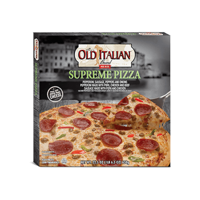 authentico app italian sounding old italian supreme pizza
