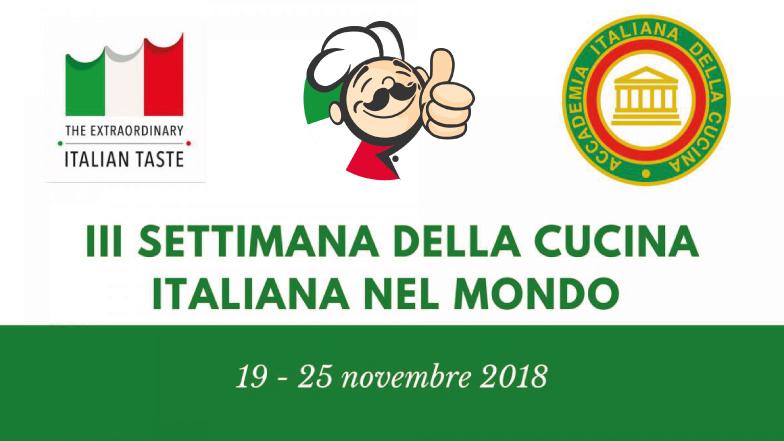 Settimana della cucina italiana nel mondo 2018: al via la terza edizione