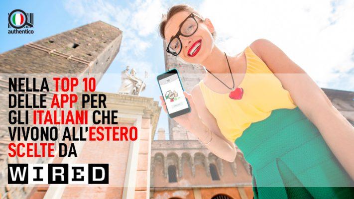 Authentico tra le migliori 10 app per italiani che vivono all'estero