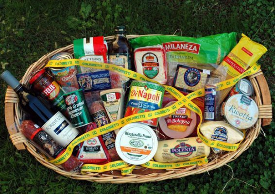 made in italy coldiretti cibo falso