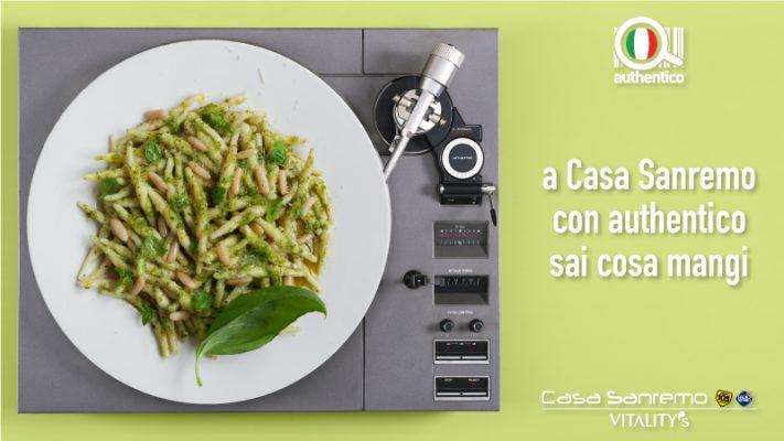 A Casa Sanremo con Authentico il menù del ristorante è tracciabile
