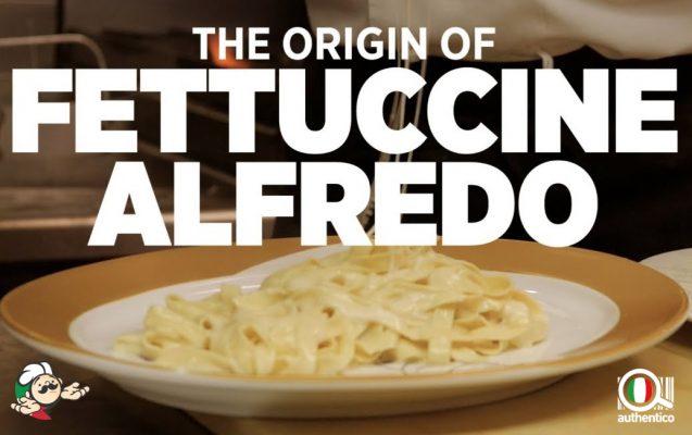 fettuccine alfredo sauce creamy authentic recipes ricetta autentica authentico