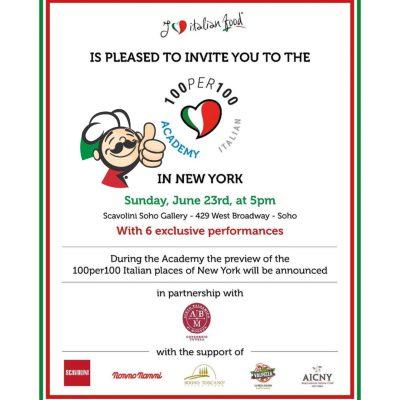 presentazione guida veri ristoranti italiani new york