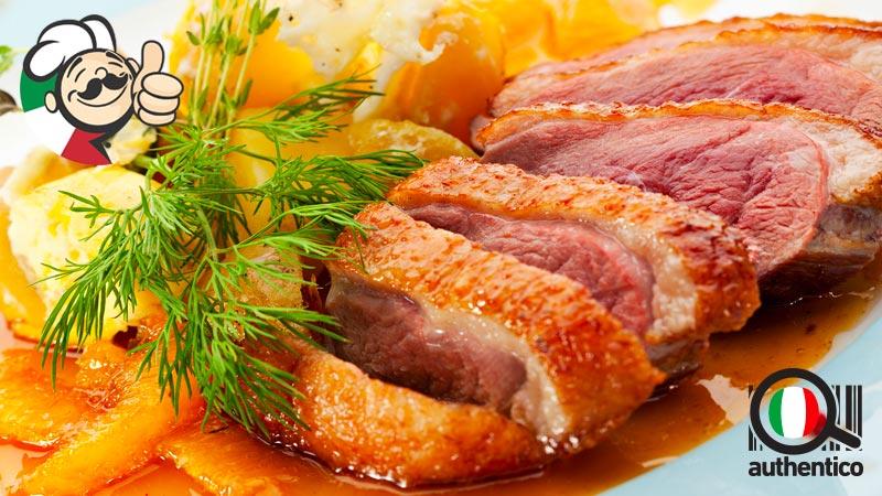 anatra all'arancia ricetta-originale-authentico-vera