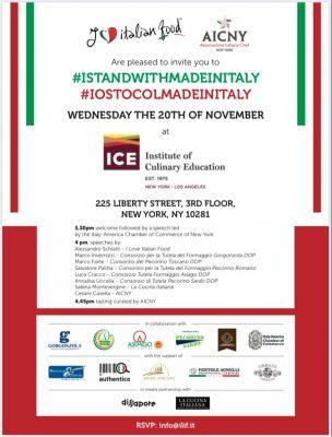 settimana della cucina italiana evento i love italian food new york iostocolmadeinitaly