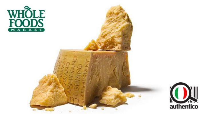Consorzio Parmigiano Reggiano e Whole Food Markets, insieme per la promozione all'estero