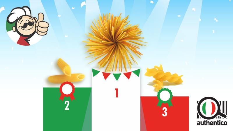 Pasta, i dieci formati più venduti in Italia
