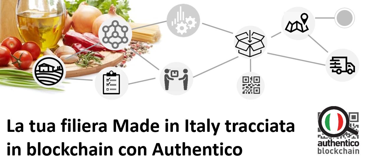 tracciabilità alimentare filiera food tracciata blockchain