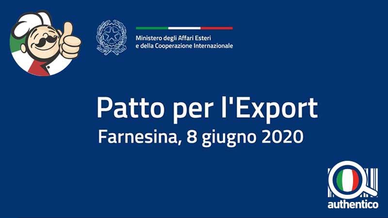Made in Italy 1,4 miliardi per il rilancio con il Patto per l'Export