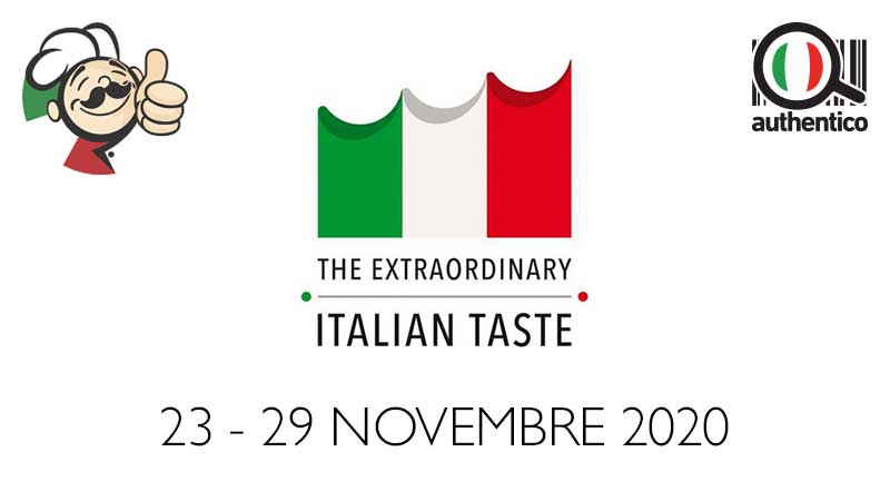 settimana della cucina italiana nel mondo 2020
